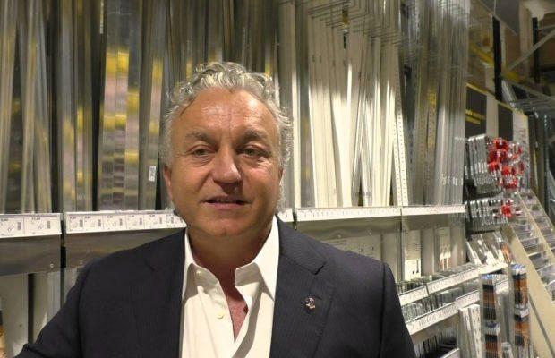 Massimo Pulcinelli patron dell' Ascoli